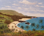 "Manuel Garza ""Hawaiian Beach"""